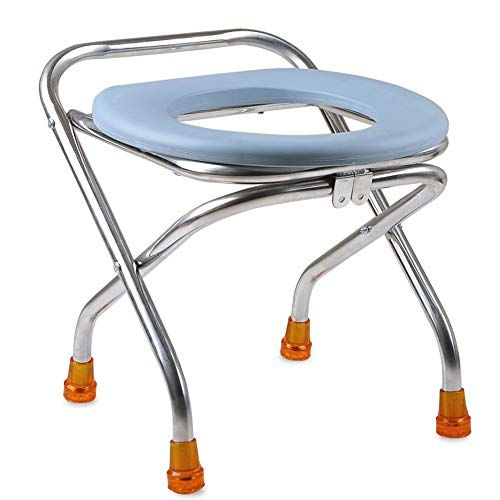 Astonishing Honglian Thickened Stainless Steel Elderly Toilet Seat Pabps2019 Chair Design Images Pabps2019Com