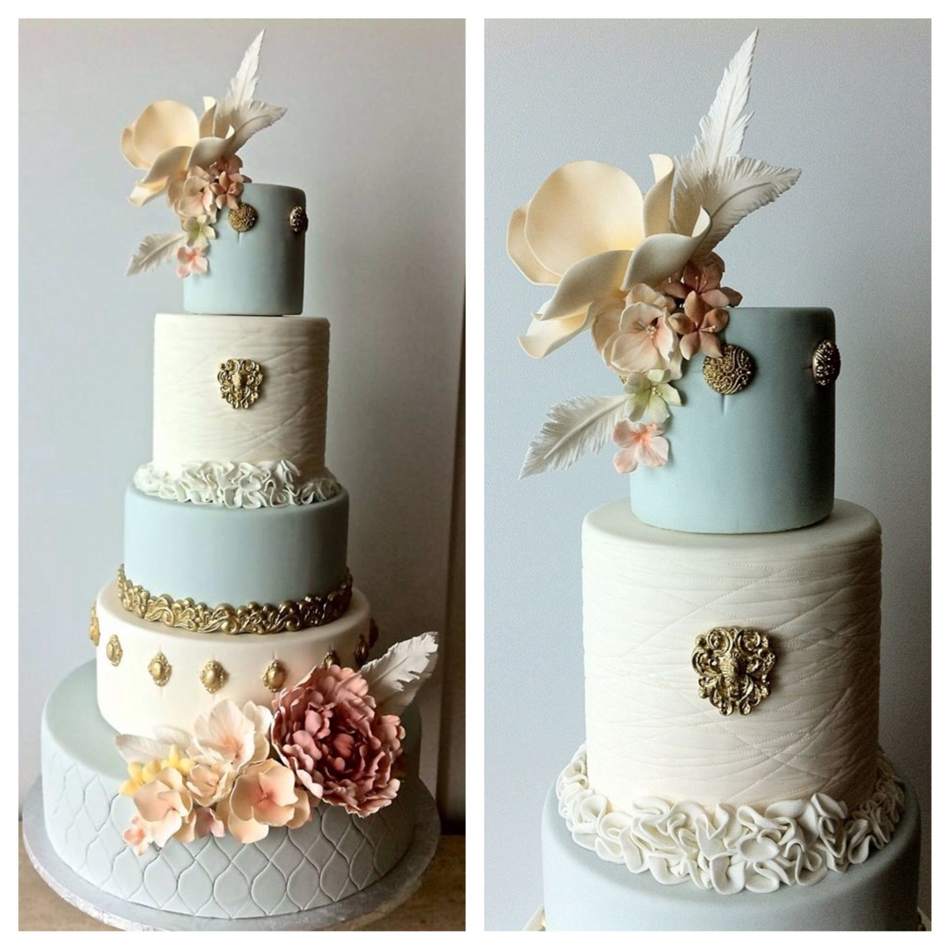 Wedding Cake Class: Here Is The Result From My Couture Wedding Cakes Class