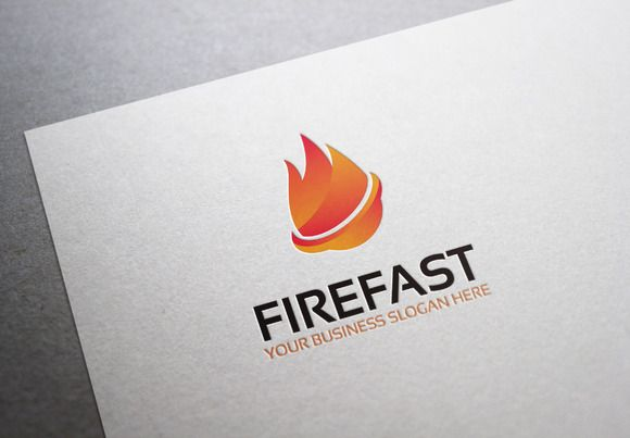 Firefast Logo by Al Fitra on Creative Market