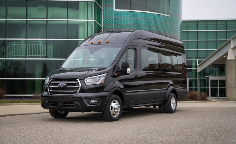 The 2020 Ford Transit Van Brings Awd And New Engines To The Scene Ford Transit Ford Van Van