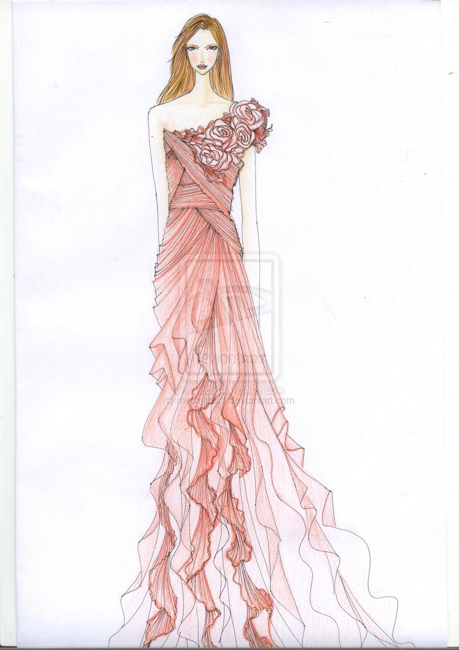 Fashion Sketches | fashion sketch by mychymich designs interfaces ...