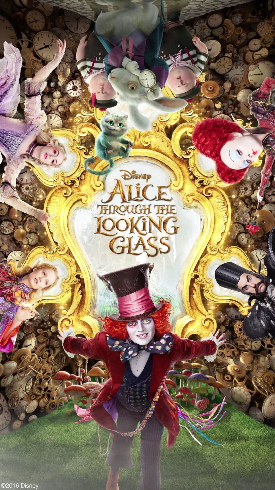 Time Is Relative This New Alice Through The Looking Glass Poster