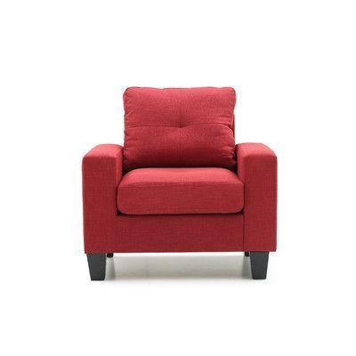 Glory Furniture Newbury Arm Chair Color: