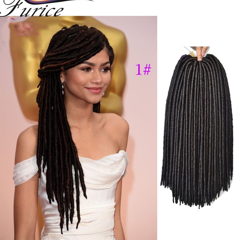 Faux Locs Goddess Crochet Dreads Extensions Crochet Braiding Hair