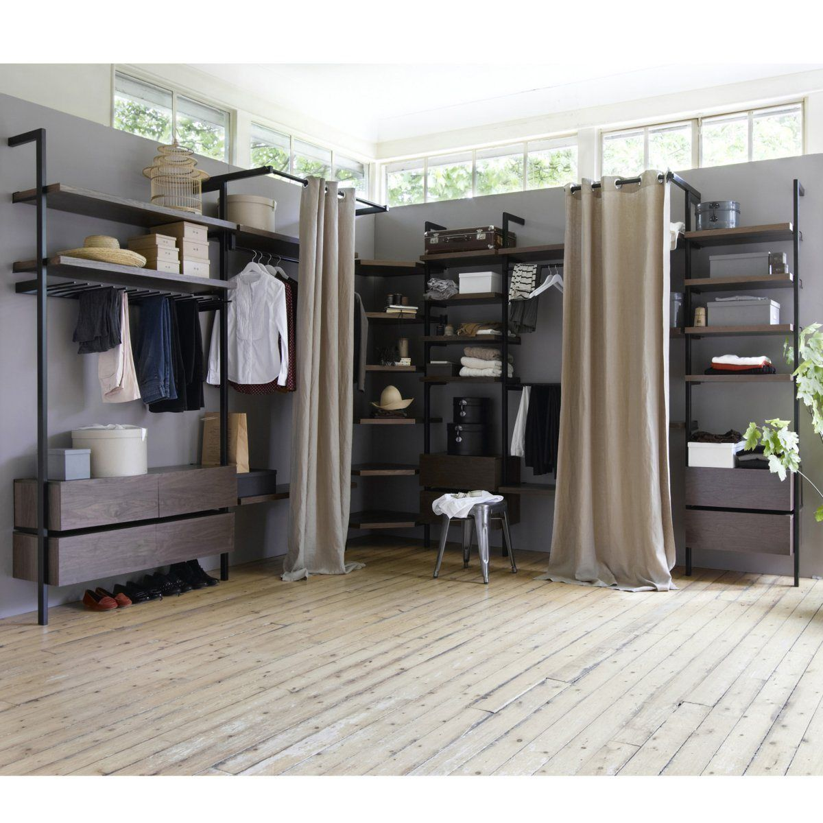 Joli dressing contemporain | Inside | Pinterest | Dressing room ...
