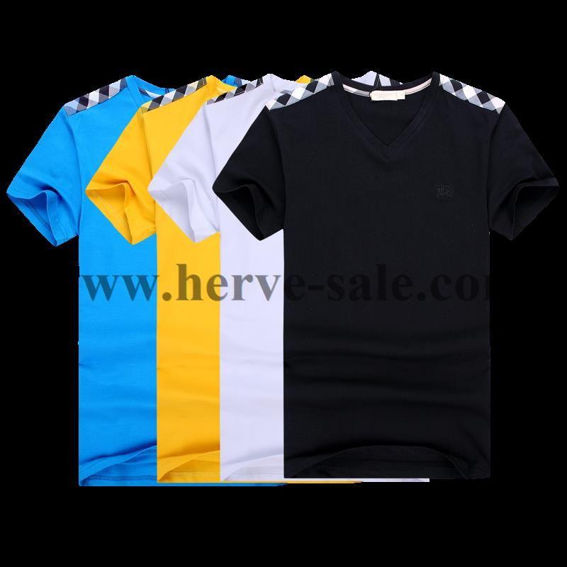 7a508a7ac431 Burberry Men T-Shirt 2014-2015 BTS070(4 colors)