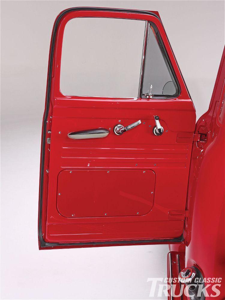 1955 Ford F100 Pickup Truck Door Handles Classic Trucks Magazine Pickup Trucks Classic Trucks