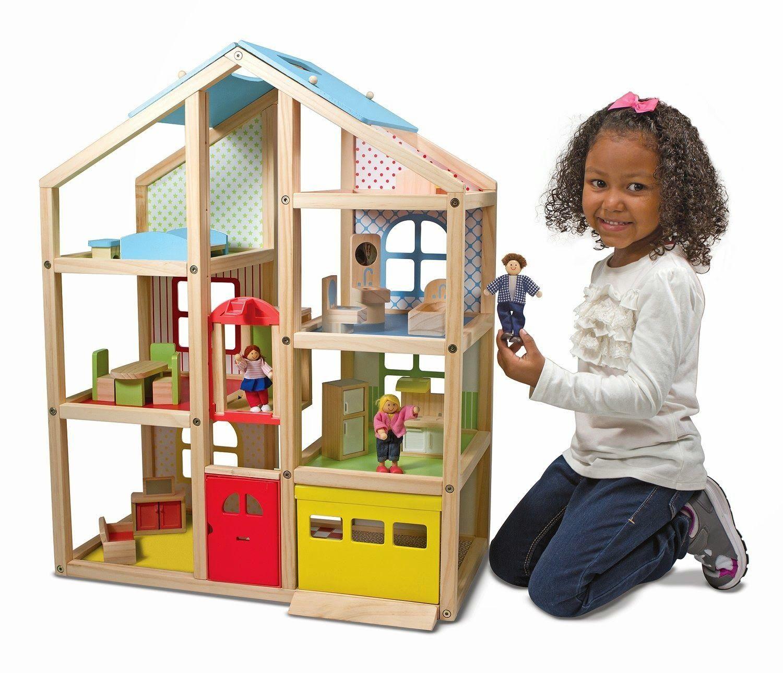 Crecebebe Juguetes Para Niños De 4 Años En Adelante Juguetes Para Niñas Proyectos De Madera Para Niños Casa De Muñecas De Madera
