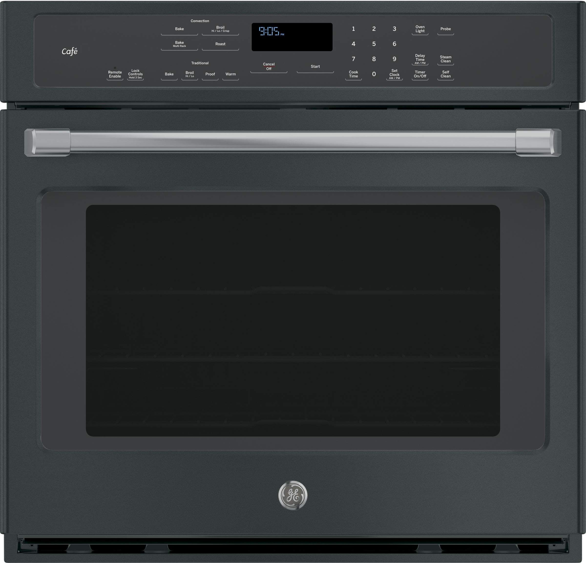 GE Cafe CT9050EKDS 30 Black Slate Series 5 cu ft Total Capacity