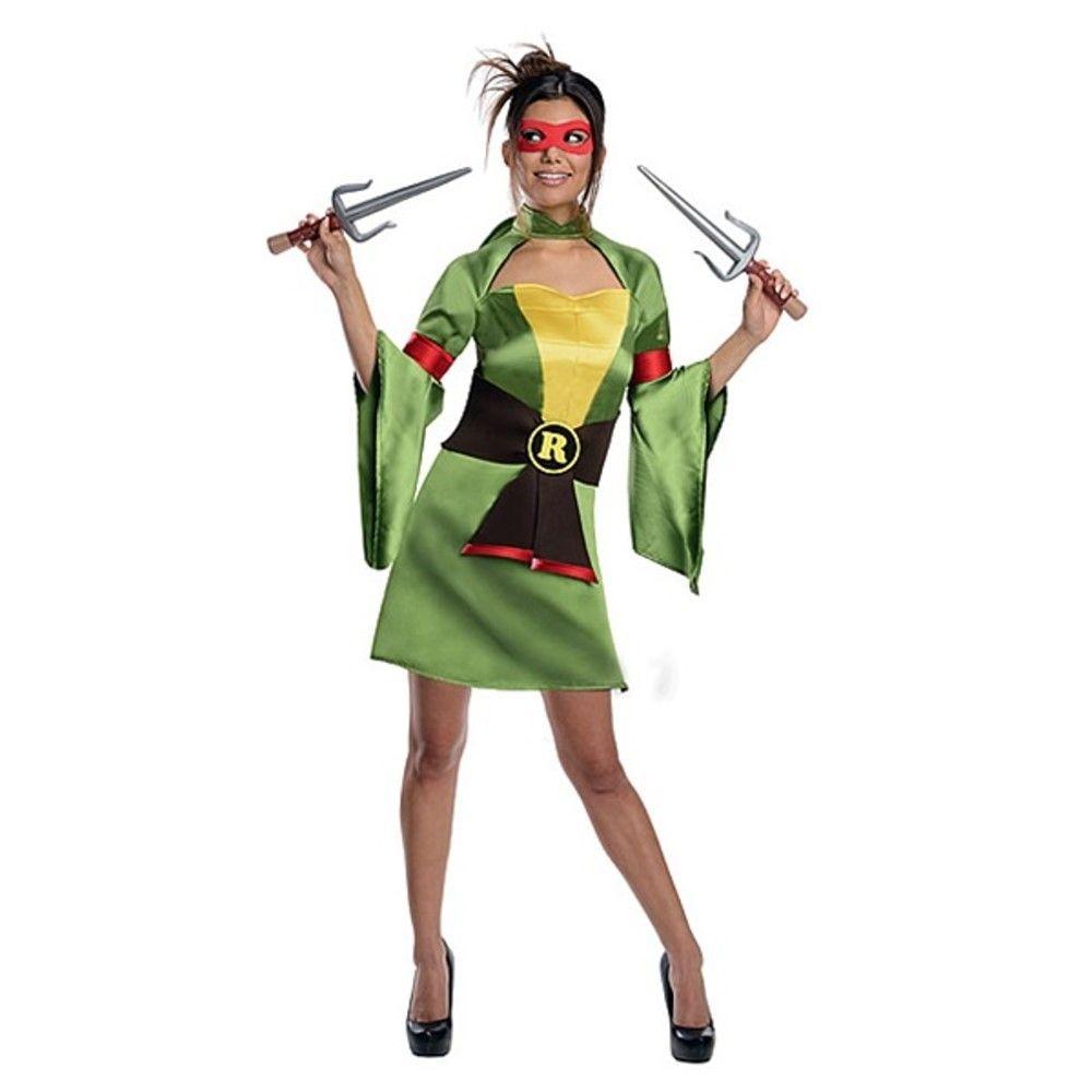 Teenage Mutant Ninja Turtles Raphael Kimono Damenkostüm | USA ...