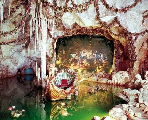 So Gorgeously Indulgent King Ludwig Ii Grotto Of Venus At Linderhof Bavaria Repinned By Www Gorara Com Grotto Bavaria Places