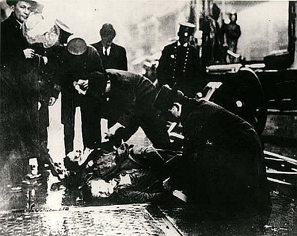 The Triangle Shirtwaist Factory Fire, Mar. 25, 1911 caused the deaths of 146