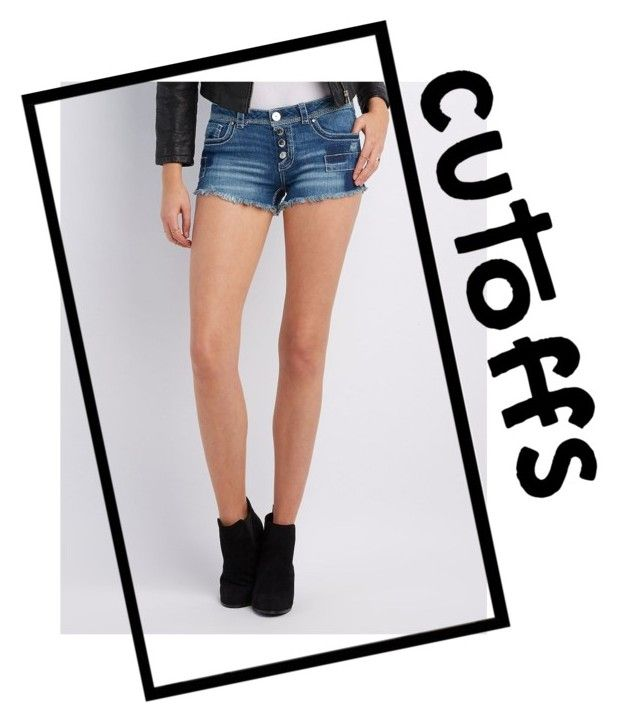 """""""Cutoffs"""" by claraoswinoswald7 ❤ liked on Polyvore featuring Charlotte Russe"""