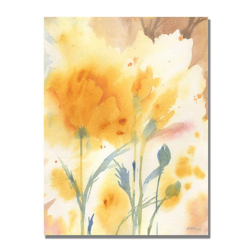 18 in. x 24 in. Golden Poppies Canvas Art | Canvases and Products