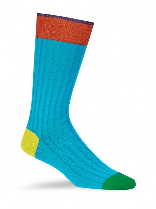 Duchamp - Plain Rib Socks - SockStyle.co.uk
