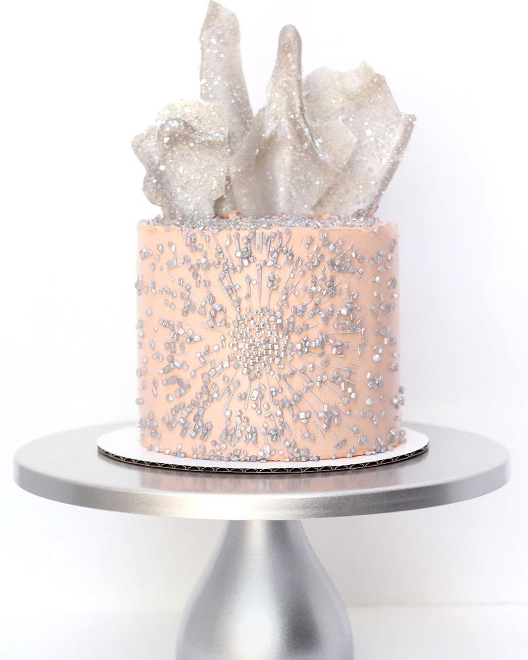 Silver Crush Sprinkles Sugar Crystals Cake Cupcake Cookie Sparkles Edible