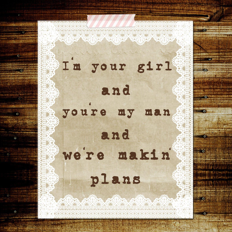 Cute Decor-Makin\' Plans Miranda Lambert | lyrics | Pinterest ...