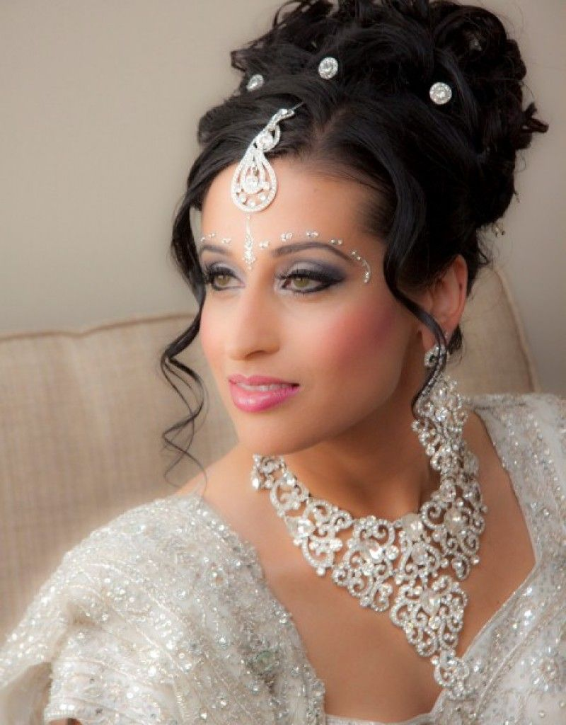 stunning hair style for indian wedding - hollywood official