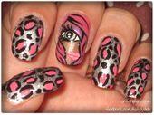 Photo of Cheetah Girl  Nail Art Gallery nailartgallery.na by nailsmag.com