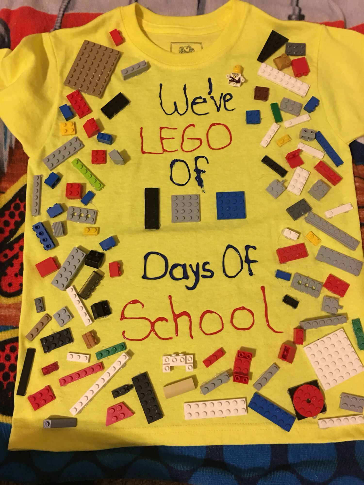 to celebrate the 100th day of school students were supposed to