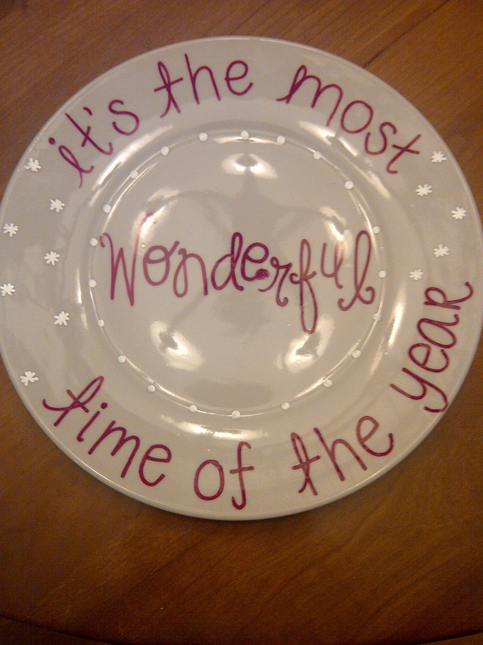 Make Your Own Plates!!