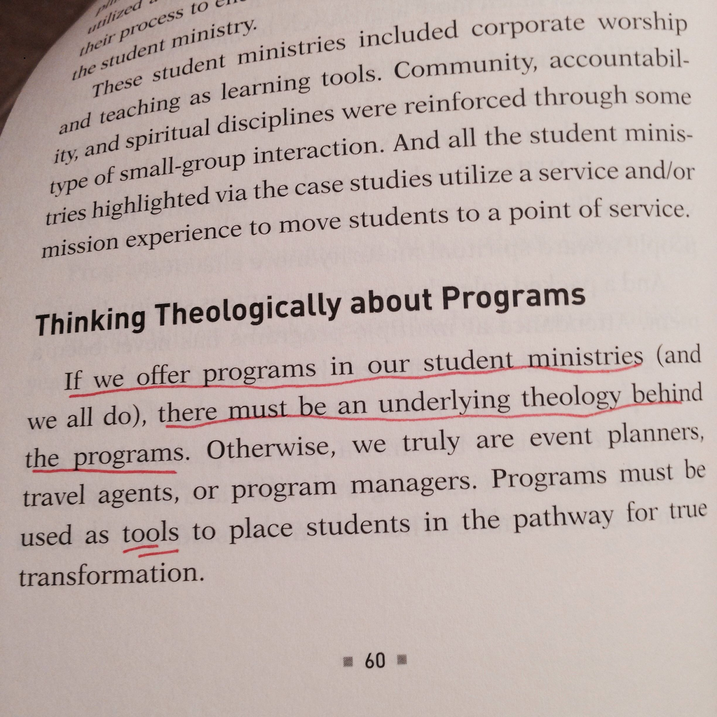 Simple Student Ministry