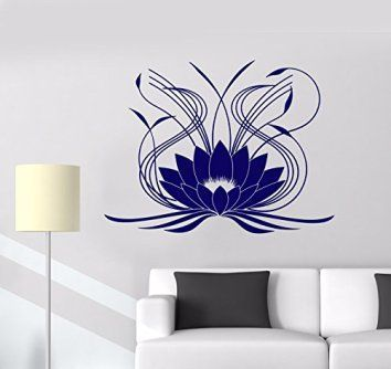 Captivating, Enchanting And Beautiful Lotus Flower Wall Art | Flower Wall  Decor, Flower Wall Decals And Lotus Flower