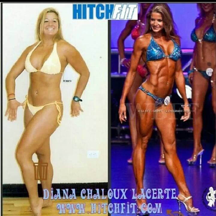 bc095e45f27 Before and After Weight Loss Pictures - Fitness Model Diana Chaloux -  LaCerte