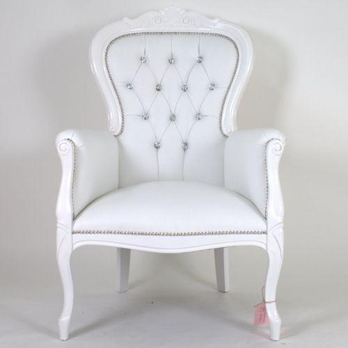 Design Fauteuil Wit Leer.Fauteuil Antonio Wit Wit Leer Of Ontwerp Het Zelf Chair Home