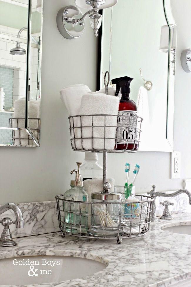 The 11 Best Bathroom Organization Ideas | The Eleven Best