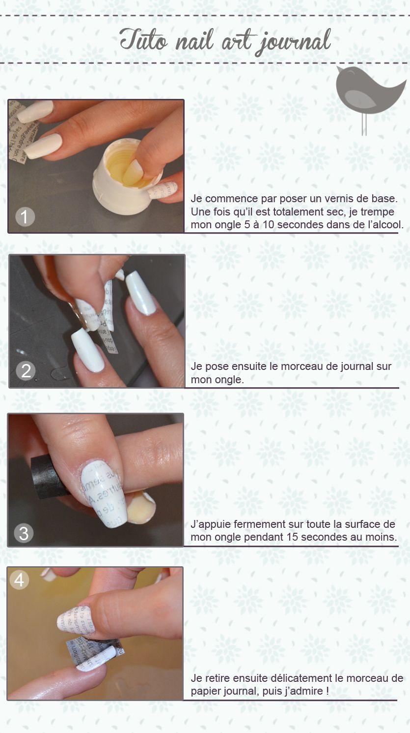 tuto nail art journal | Nail art | Pinterest | Ongles, Makeup and ...