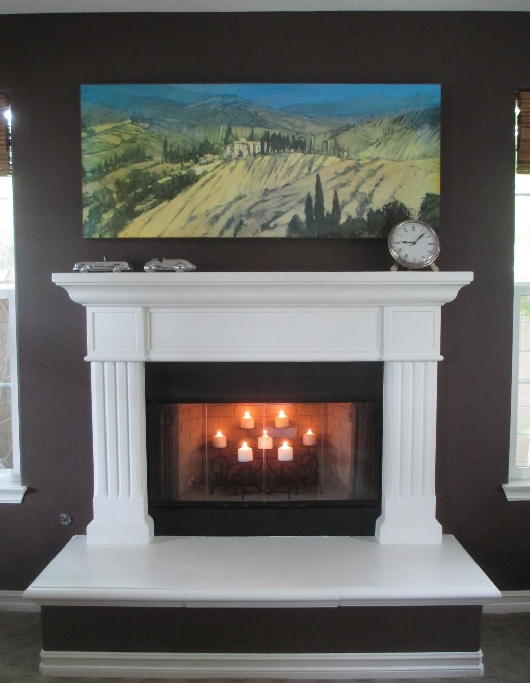 Fireplace Alternatives 10 No Fuss Alternatives To Log Fire For Fireplace Decorations