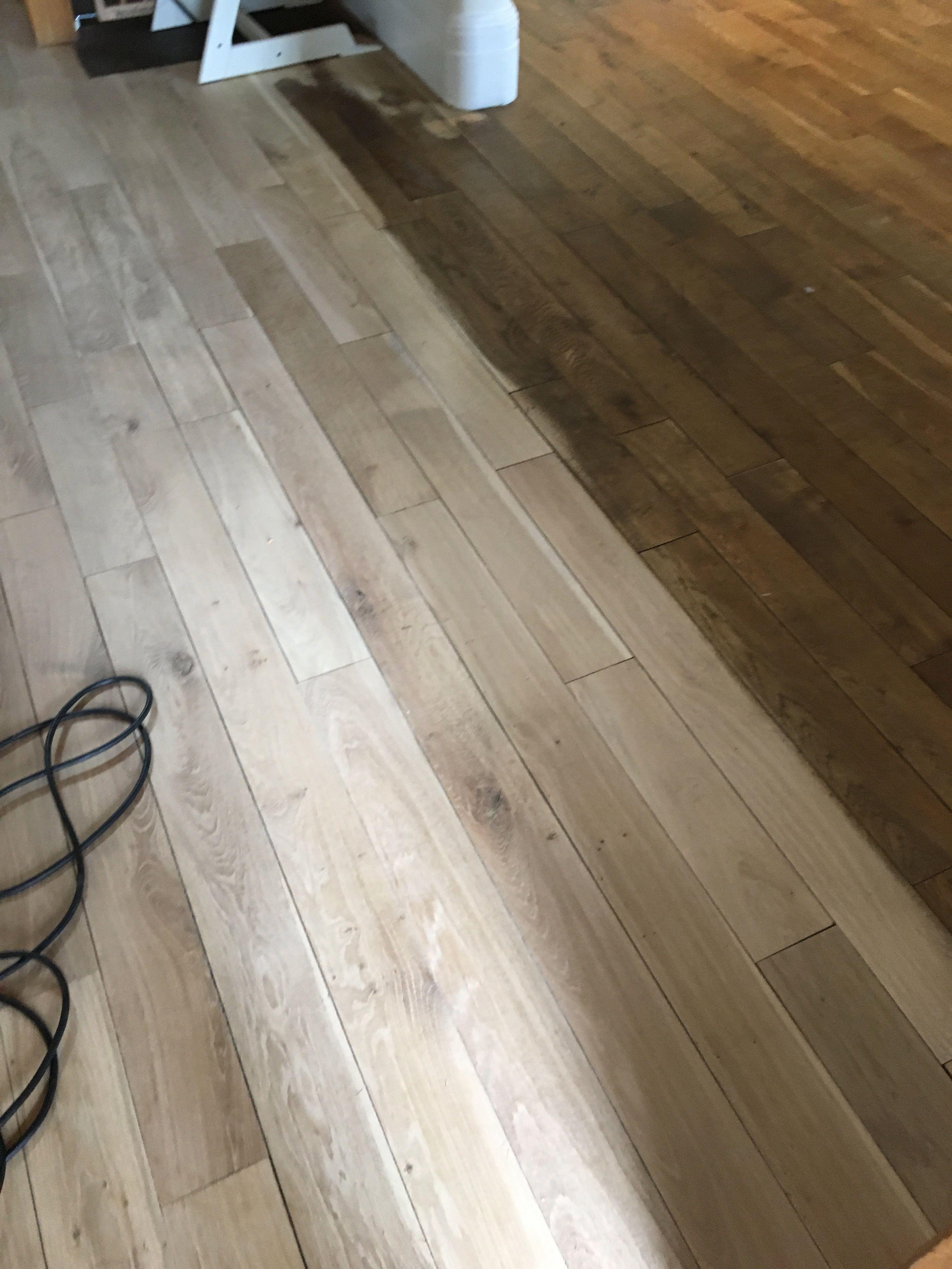 Restoration In Progress Wood Floor Restoration Hardwood Floor