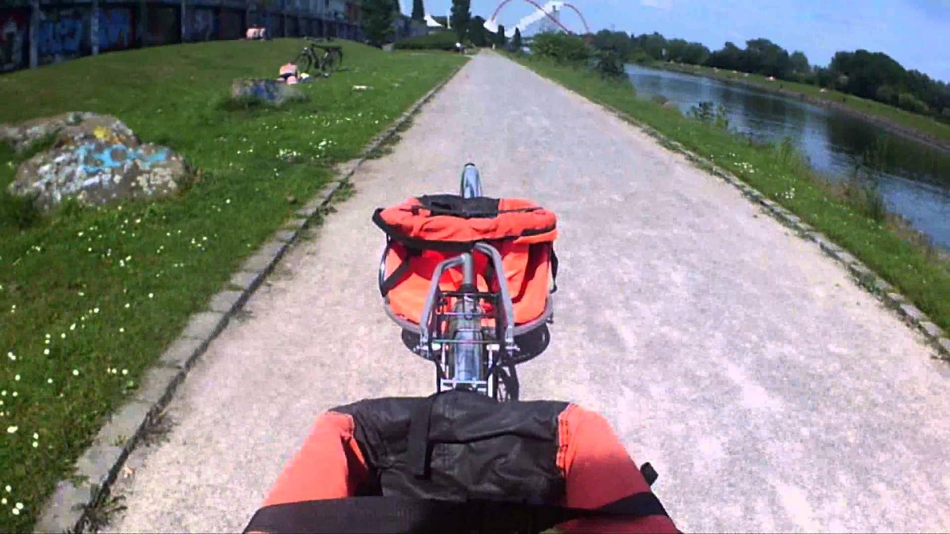 Long Vehicle Fahrrad mit zwei Anhängern Null Problemo