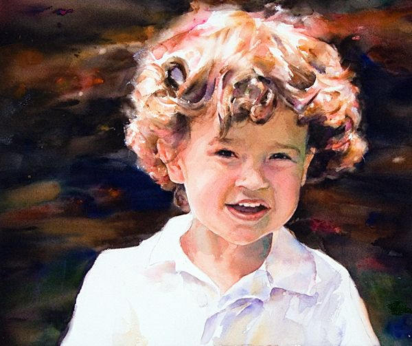 More Portraits From Upcoming Book Watercolor Made Easy
