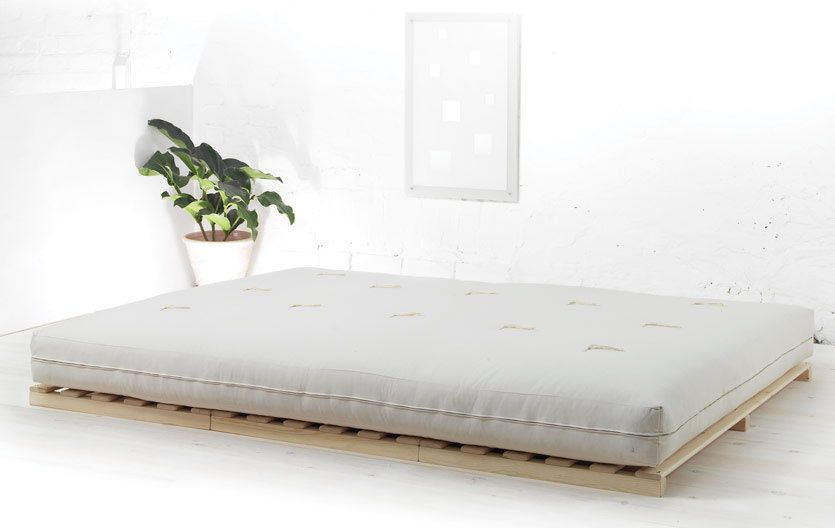 Old asian style futon mattress