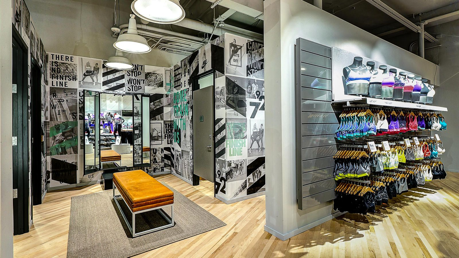 b8d4281fffa80 Nike News - Nike women's-only store with fitness studio opens in Newport  Beach