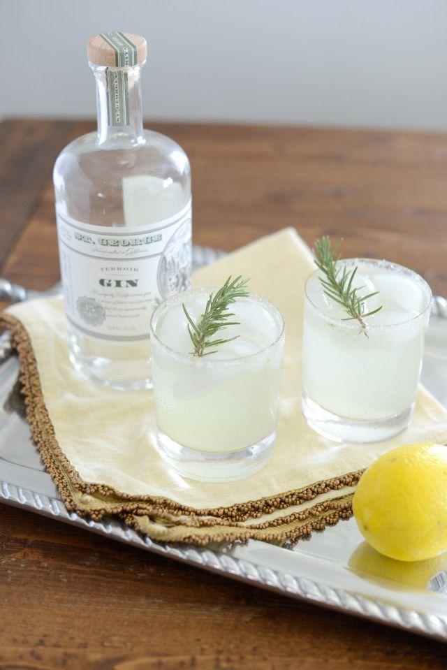 Lemon Rosemary & Cucumber Cocktail | M Loves M