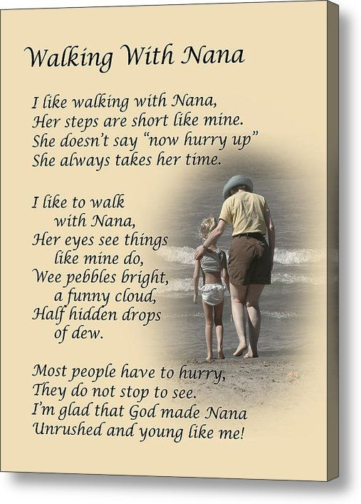 Walking With Nana Dale Kincaid Sold A 8 00 Quot X 10 00