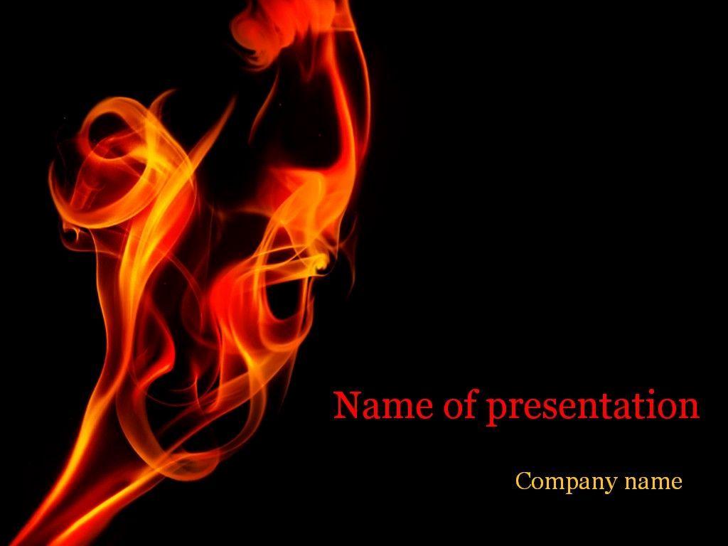 Fire Powerpoint Template Powerpoint Templates Powerpoint Templates