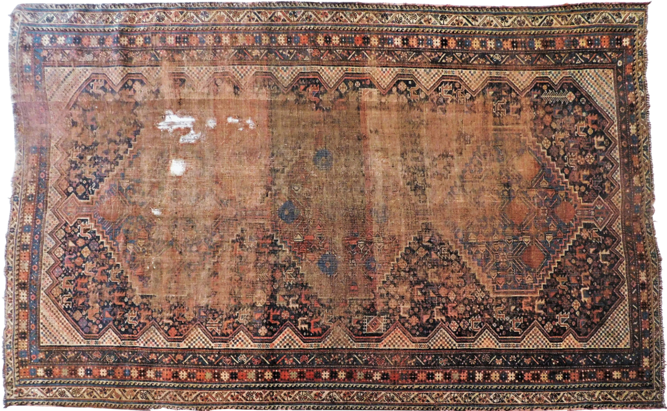 1900 Antique Tribal Persian Rug 5 8 Rugs On Carpet Persian Rug Rustic Area Rugs