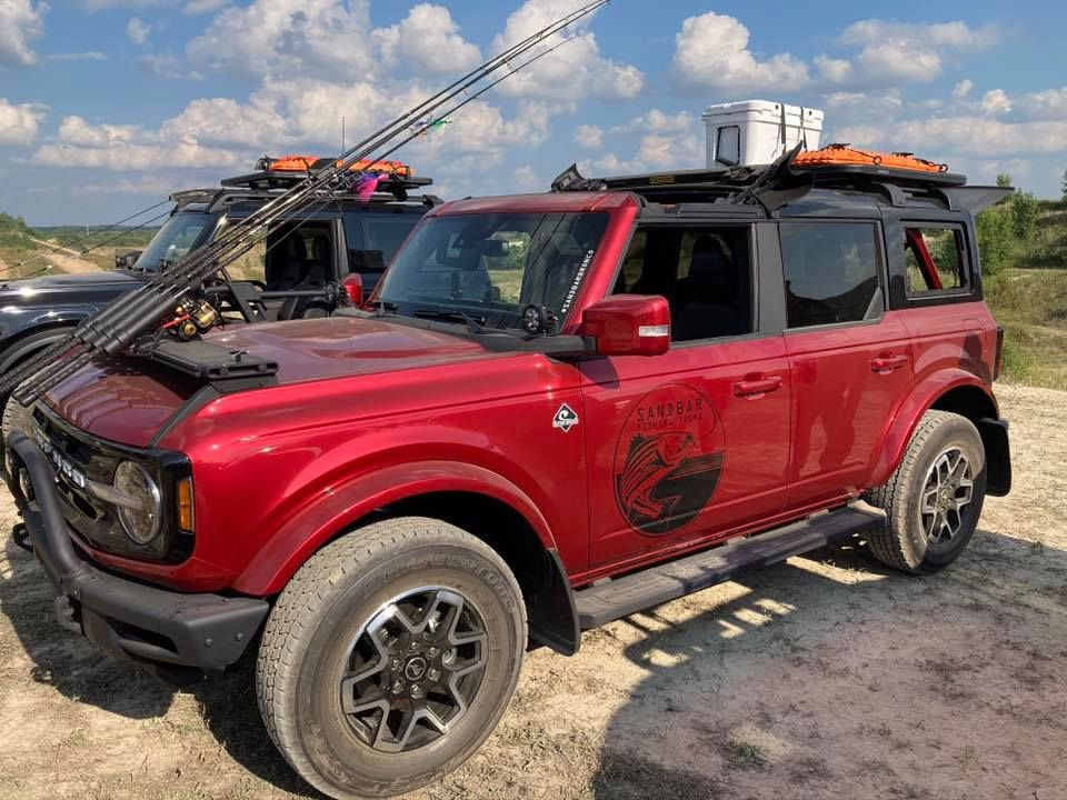Introducing the Bronco FourDoor Outer Banks Fishing Guide
