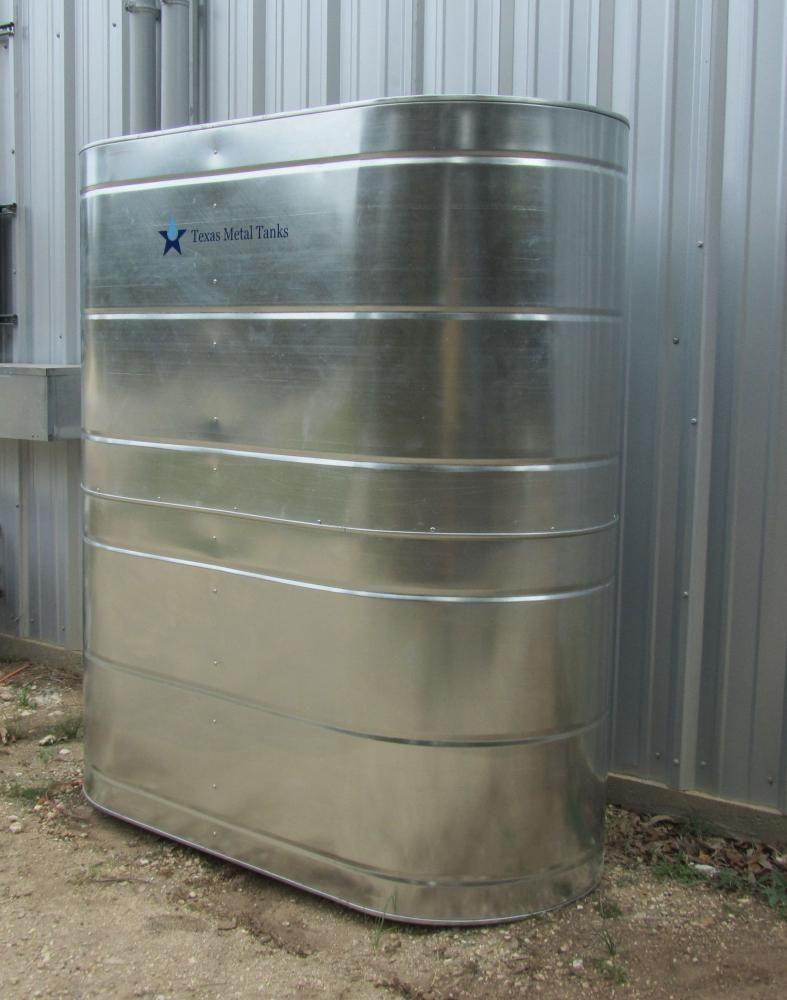 Texas Metal Tanks The Classic Texas Rainwater Cistern Water Storage Tanks Rain Water Tank Water Storage