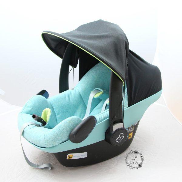 sonnenschirm - sonnenschutz für babyschale und kinderwagen