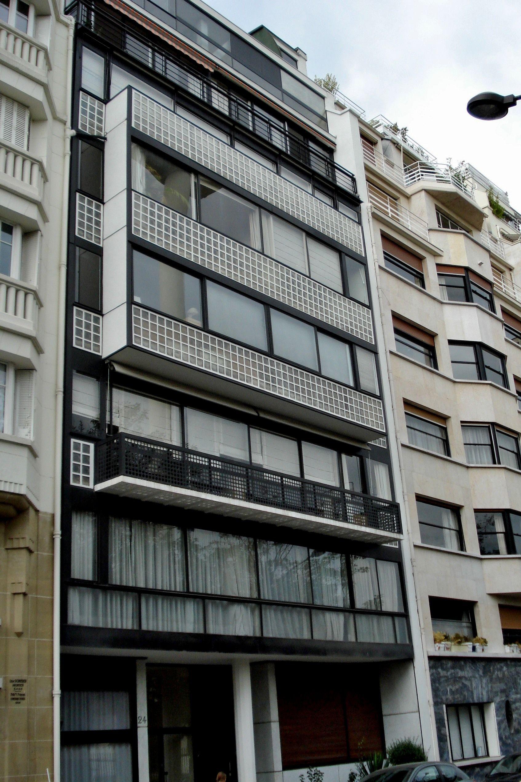 Immeuble molitor paris 1931 34 le corbusier and pierre for Le molitor paris