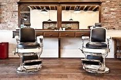 17 barber shop interior pinterest