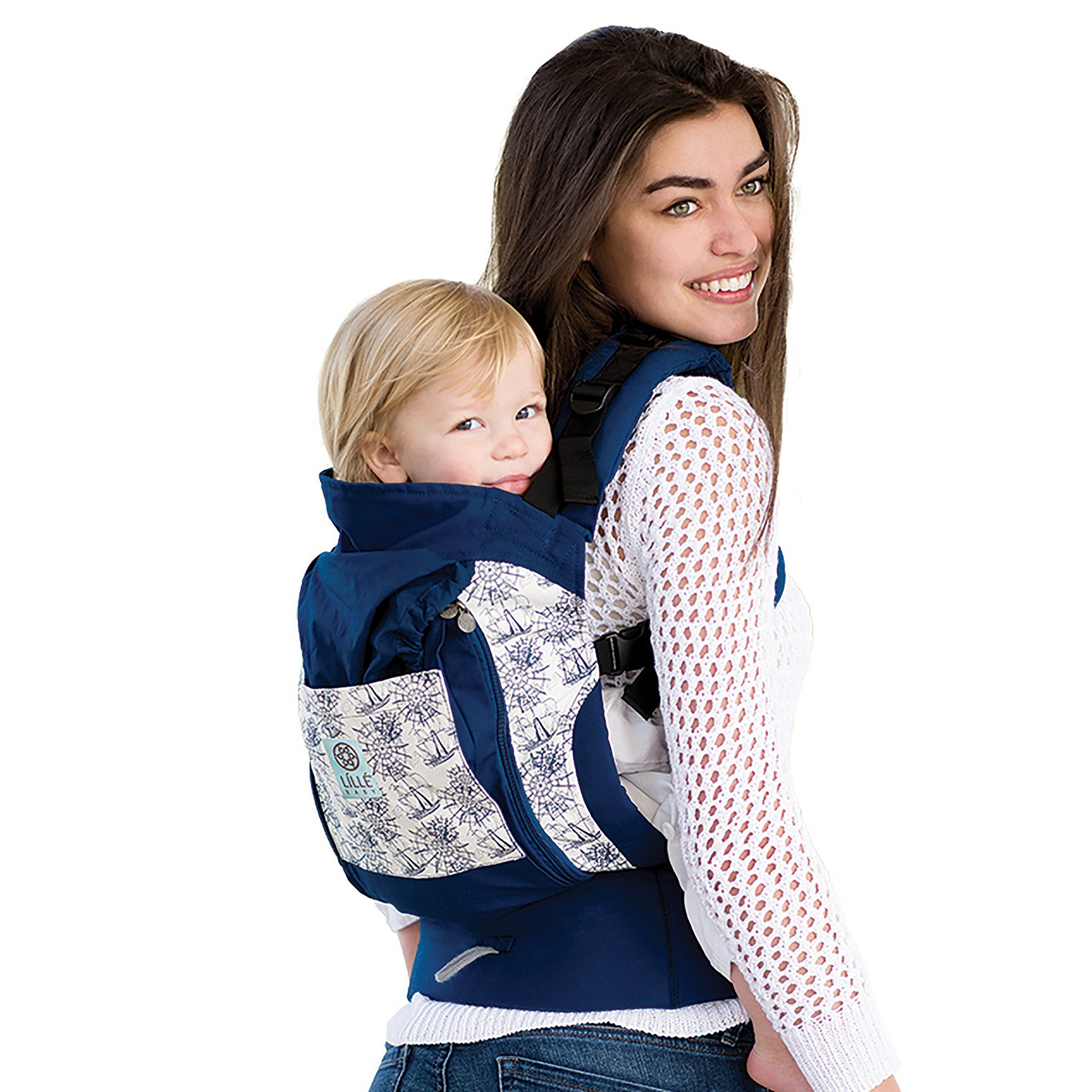 Lillebaby 4 In 1 Essentials All Seasons Baby Carrier Seven Seas