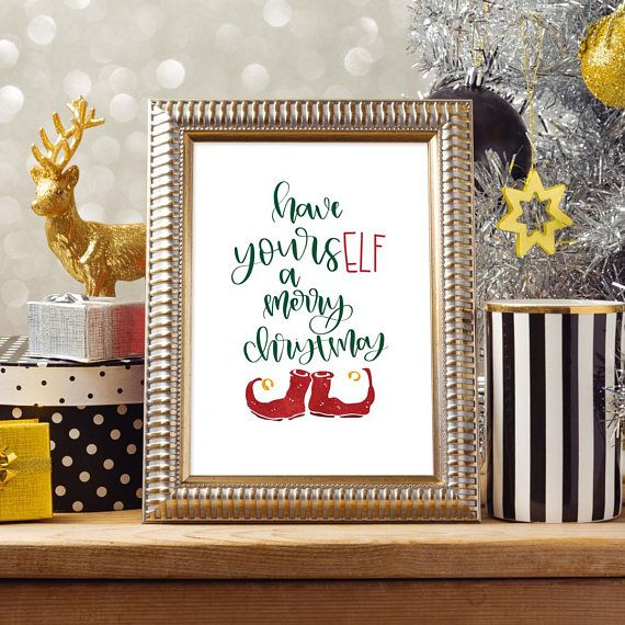 Instant Download Christmas Print, Have Yourself a Merry Little ...