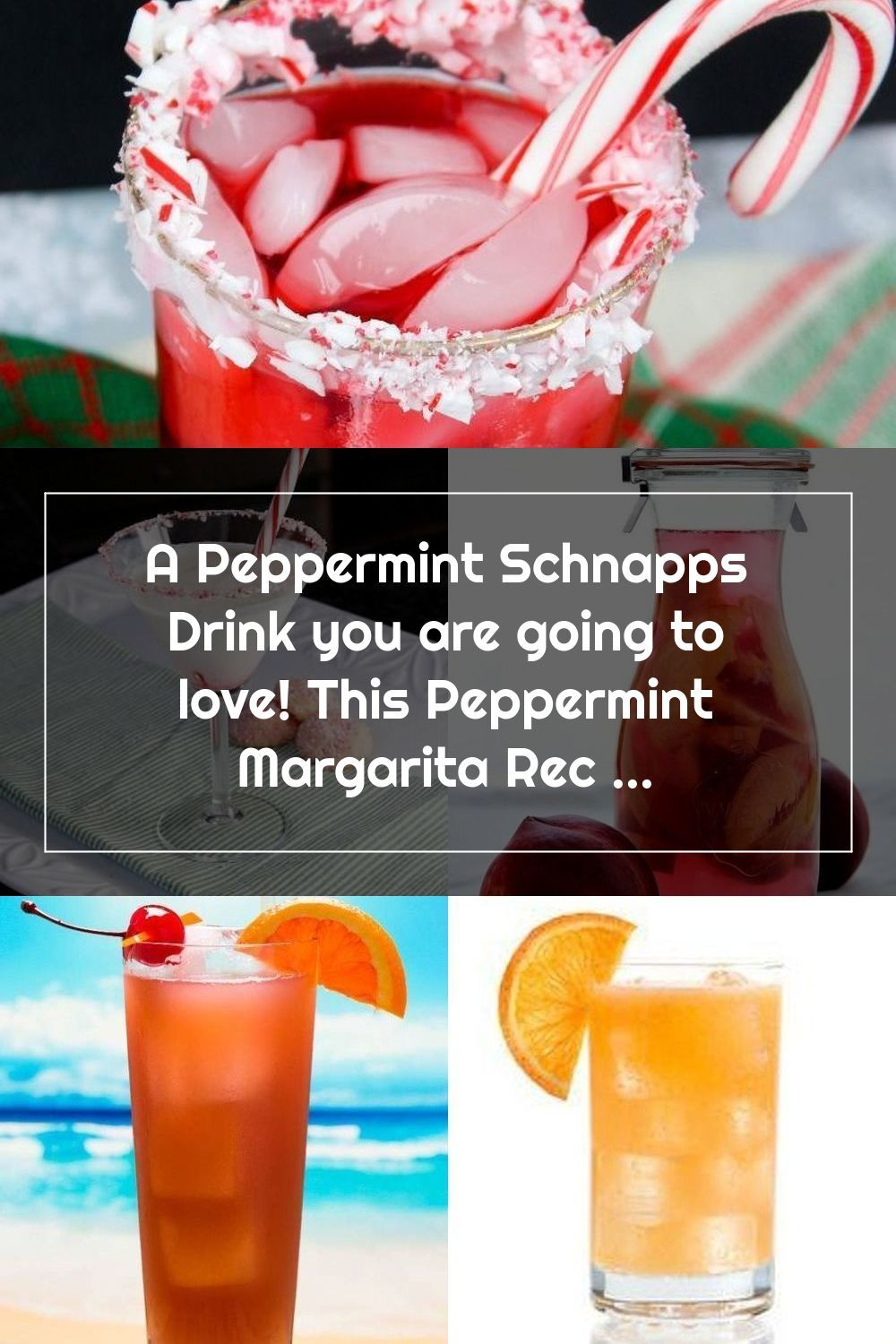 A Peppermint Schnapps Drink You Are Going To Love This Peppermint Margarit In 2020 Schnapps Christmas Cocktails Recipes Drinks