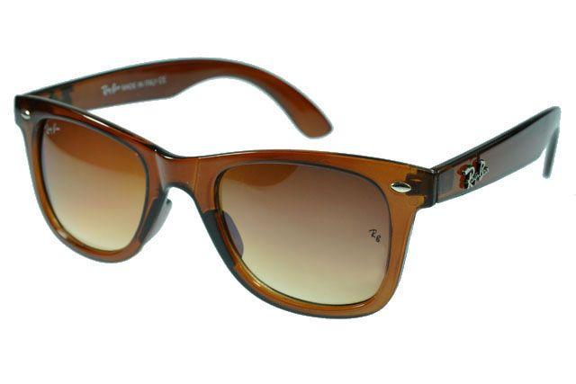 23691ef032 Ray Ban Wayfarer RB2140 Sunglasses Light Brown Frame Brown Lens  36.63.  Gafas De Sol ...